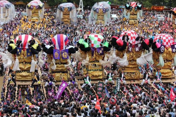 新居浜太鼓祭り・穴場