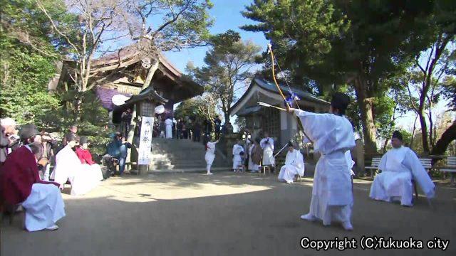 住吉神社 福岡 節分祭 2017